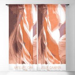 Antelope Canyon Blackout Curtain
