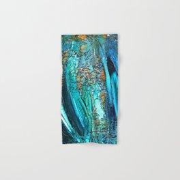Doodle in blue Hand & Bath Towel