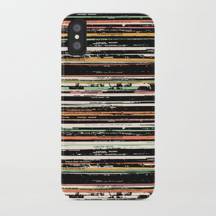 Recordsss iPhone Case