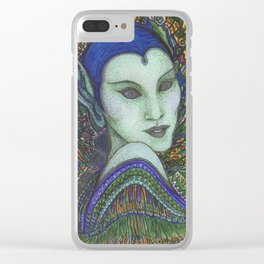 Ef Queen Clear iPhone Case