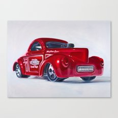 41 Willys Coupe Canvas Print