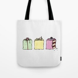 P is for Petit Four Tote Bag