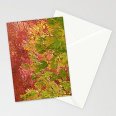 Fall stroll  Stationery Cards