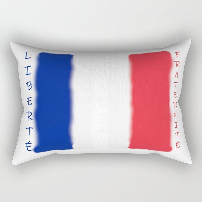 Liberté! Égalité! Fraternité! Rectangular Pillow