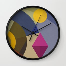Mutt's Nuts TWO Square Wall Clock