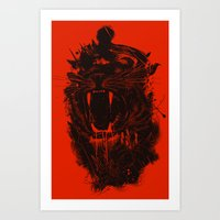 king Art Prints featuring The King by nicebleed