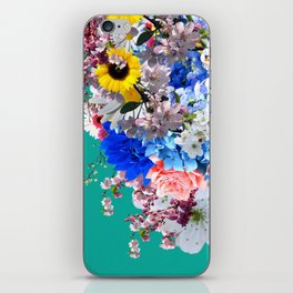 Light is needed to grow flowers iPhone Skin
