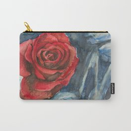 Water Color Rose Study  Carry-All Pouch
