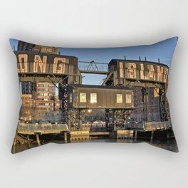 Gantry Plaza State Park, Long Island - New York Rectangular Pillow