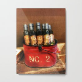 Extra Virgin Olive Oil Metal Print