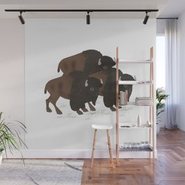 Bison Wall Mural