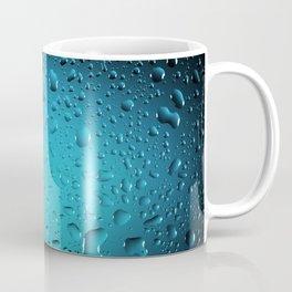 Stylish Cool Blue water drops Coffee Mug