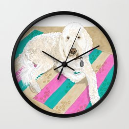Shaggy Wall Clock