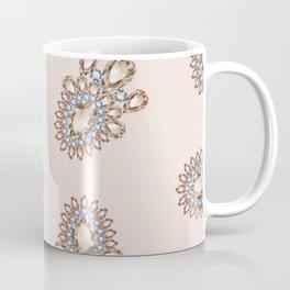 Jewelbox: Morganite Brooch in Light Blush Coffee Mug