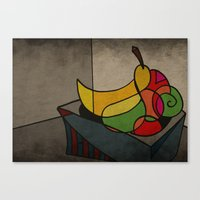 fruit Canvas Prints featuring Fruit by Matt Jeffs
