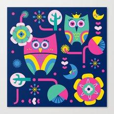 Owls love Canvas Print