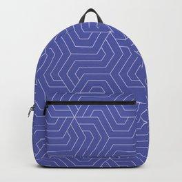 Liberty - blue - Modern Vector Seamless Pattern Backpack