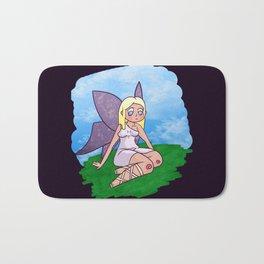 Purple-winged Fairy Bath Mat