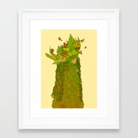 botanical Framed Art Prints featuring Botanical by Carol Martins