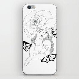 Flora iPhone Skin