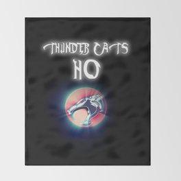 Thunder Cats Ho Throw Blanket