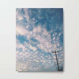 Cloudy Daydream Metal Print