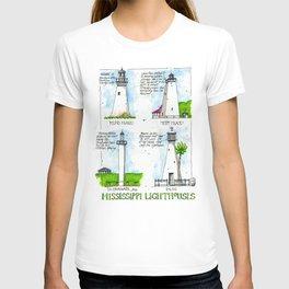 Mississippi Lighthouses T-shirt