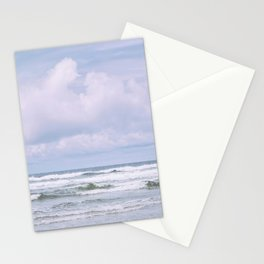 Lilac Sea - Ocean Landscape, Nature Photography Stationery Cards