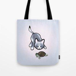Best Friends: Stewie and Obi Tote Bag