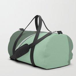Green Triangles #kirovair #design #minimal #society6 #buyart #green Duffle Bag