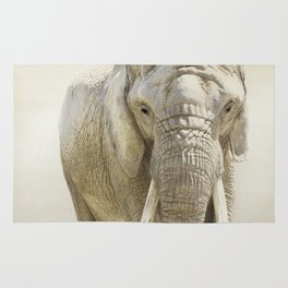Elephant Photography | Wildlife Art | African | Nature | Animal Rug