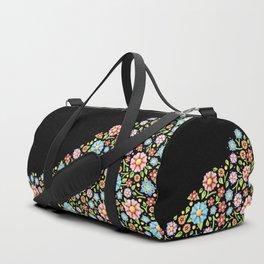 Millefiori Floral Horizon Duffle Bag