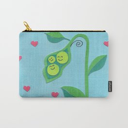 Pea Pod Love Carry-All Pouch