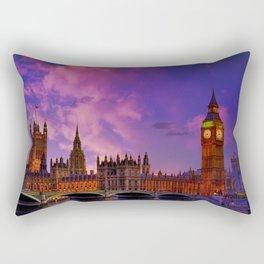 Houses of Parliament - London Rectangular Pillow
