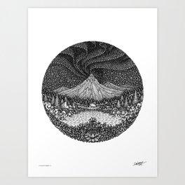 AURORA - NEW ADVENTURE - Visothkakvei Art Print