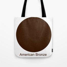 American Bronze Tote Bag