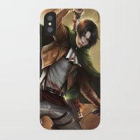 levi iPhone & iPod Cases featuring Levi Heichou by K.Koji