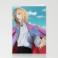 howl Stationery Cards featuring Howl by StrawberryLuv32
