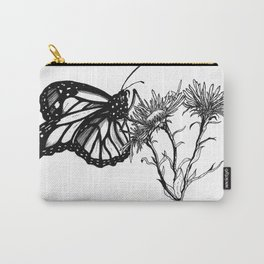 Monarch Butterfly by Sketchy Reputation Carry-All Pouch