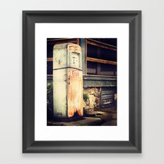 Out of Gas Framed Art Print