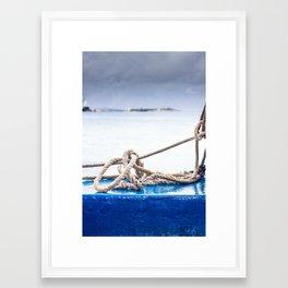 Been Tied Up? Framed Art Print