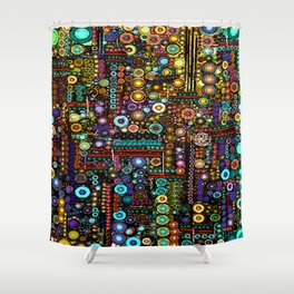 :: Chi-Town :: Shower Curtain