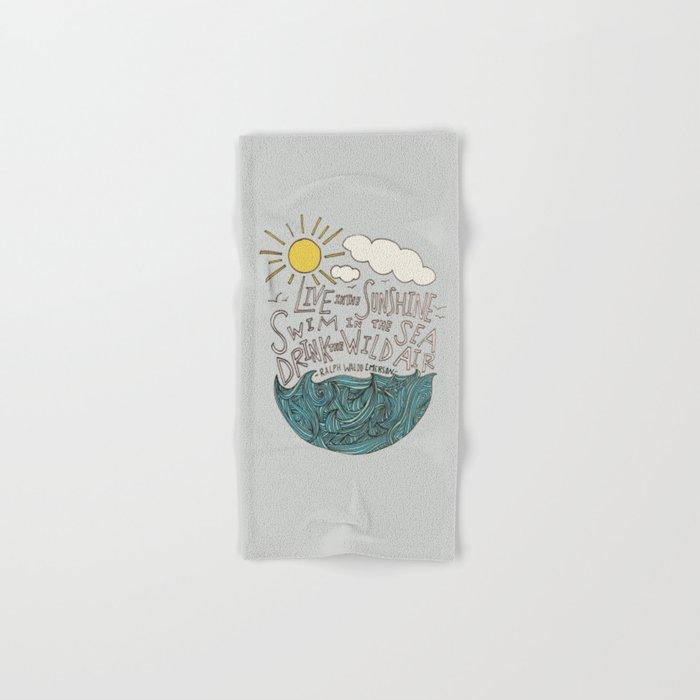 Emerson: Live in the Sunshine Hand & Bath Towel