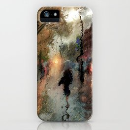 Rainy days iPhone Case