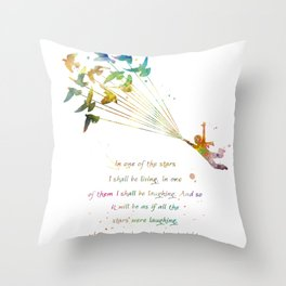 In one of the stars Throw Pillow