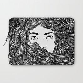 Flowing hair Laptop Sleeve