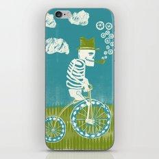 Se muere por las bicicletas iPhone Skin