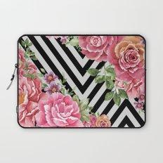 flowers geometric Laptop Sleeve