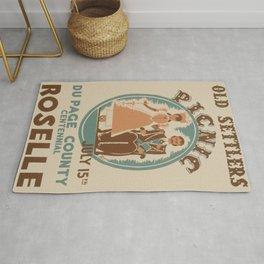 Vintage poster - Roselle Rug