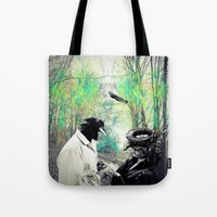 birdman Tote Bags featuring Birdman by Cs025